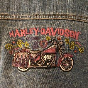 Harley-Davidson Jean jacket size 2T